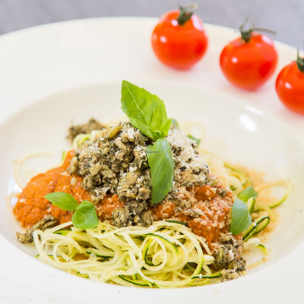 """Photo of Biohotel Flachauerhof  by <a href=""""/members/profile/WilfriedHartl"""">WilfriedHartl</a> <br/>Zucchini spaghetti <br/> February 10, 2018  - <a href='/contact/abuse/image/109349/357471'>Report</a>"""
