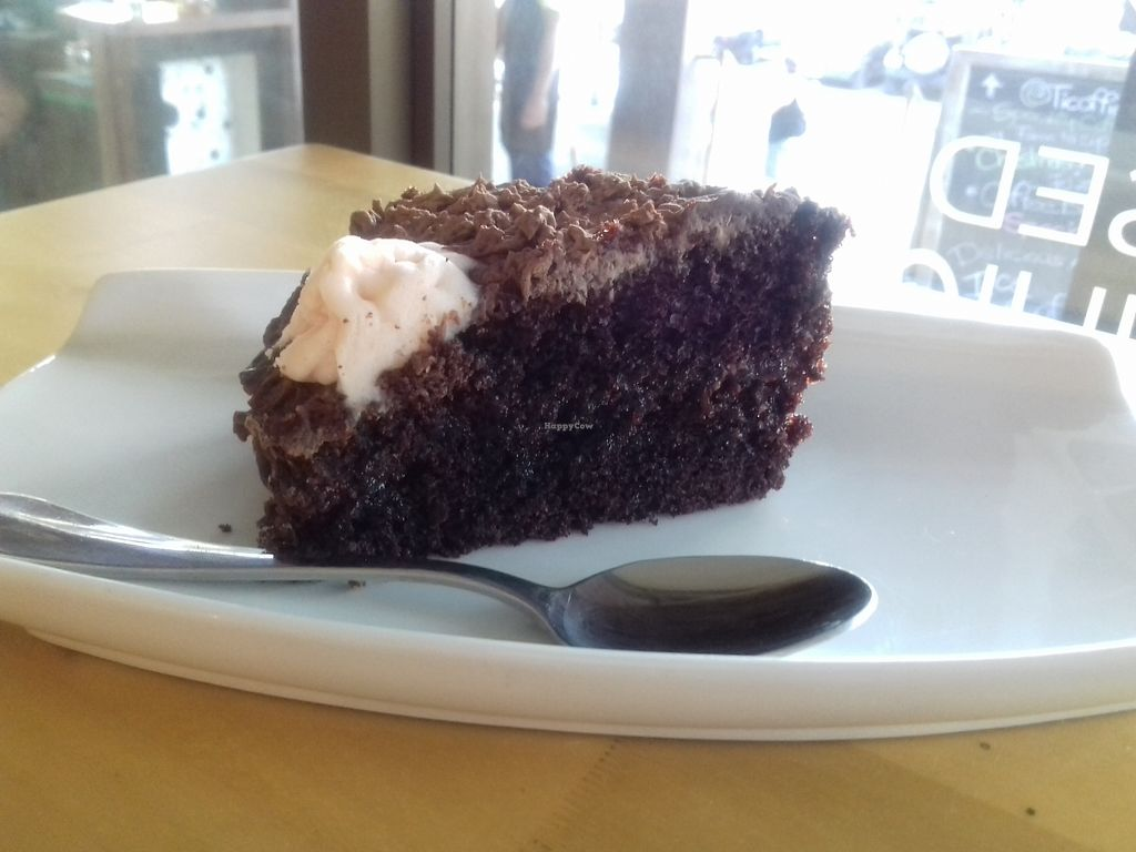 """Photo of Ticoffia  by <a href=""""/members/profile/Mima"""">Mima</a> <br/>Vegan chocolate cake <br/> January 13, 2018  - <a href='/contact/abuse/image/109357/345928'>Report</a>"""
