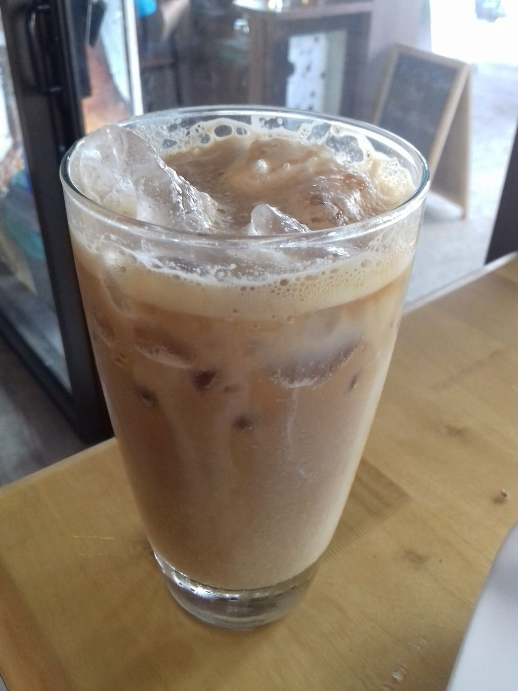 """Photo of Ticoffia  by <a href=""""/members/profile/Mima"""">Mima</a> <br/>Ice latte with soymilk <br/> January 13, 2018  - <a href='/contact/abuse/image/109357/345929'>Report</a>"""