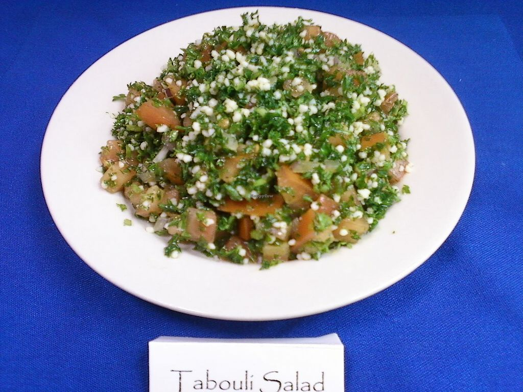 "Photo of Casbah Restaurant  by <a href=""/members/profile/casavegan"">casavegan</a> <br/>Tabouli salad <br/> January 13, 2018  - <a href='/contact/abuse/image/109363/345934'>Report</a>"