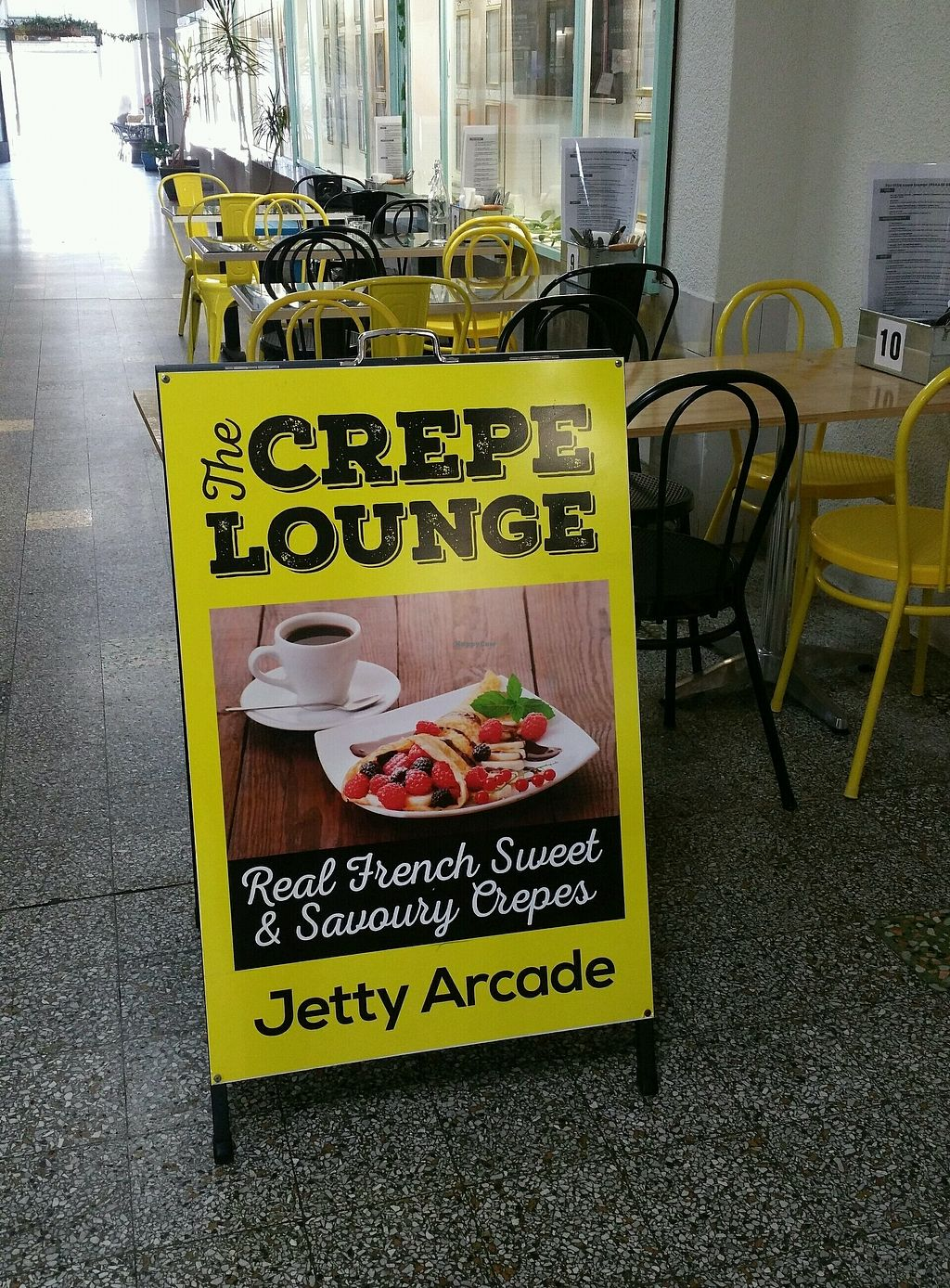 """Photo of The Little Crepe Lounge  by <a href=""""/members/profile/Mike%20Munsie"""">Mike Munsie</a> <br/>arcade seating <br/> January 30, 2018  - <a href='/contact/abuse/image/109387/352603'>Report</a>"""