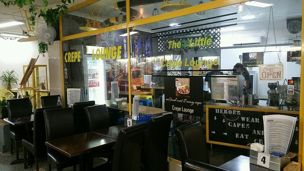 """Photo of The Little Crepe Lounge  by <a href=""""/members/profile/Mike%20Munsie"""">Mike Munsie</a> <br/>shop front <br/> January 30, 2018  - <a href='/contact/abuse/image/109387/352608'>Report</a>"""