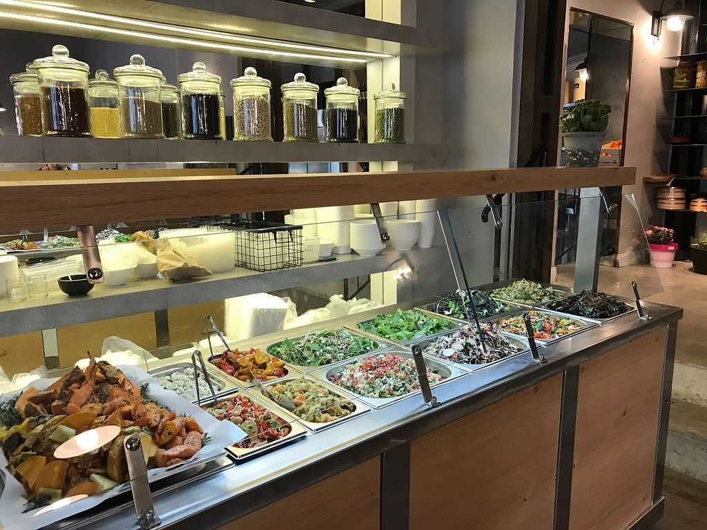 """Photo of Meshek Barzilay Deli  by <a href=""""/members/profile/Brok%20O.%20Lee"""">Brok O. Lee</a> <br/>Vegan salads <br/> January 13, 2018  - <a href='/contact/abuse/image/109391/346246'>Report</a>"""