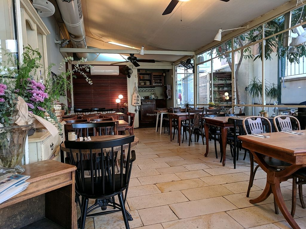 """Photo of Meshek Barzilay Deli  by <a href=""""/members/profile/NJ220"""">NJ220</a> <br/>Enclosed outdoor dining <br/> February 28, 2018  - <a href='/contact/abuse/image/109391/364772'>Report</a>"""