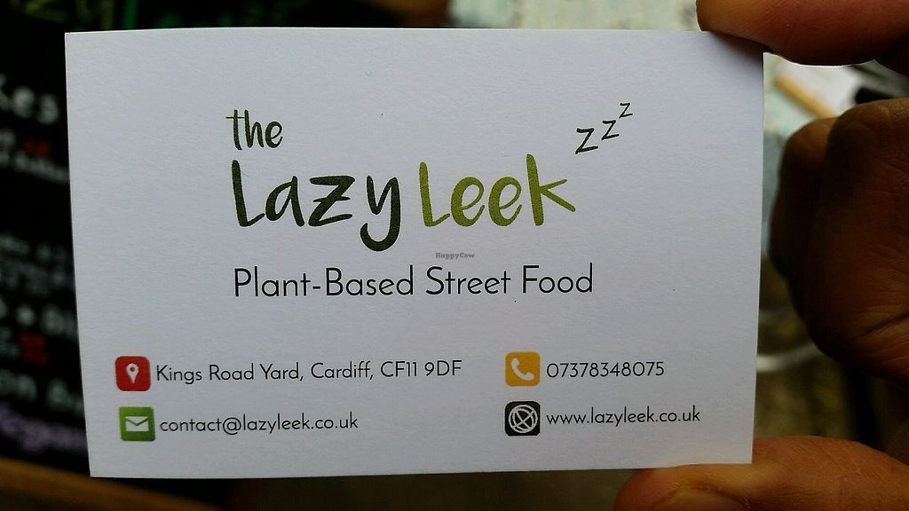 """Photo of The Lazy Leek  by <a href=""""/members/profile/konlish"""">konlish</a> <br/>business card <br/> January 22, 2018  - <a href='/contact/abuse/image/109392/349942'>Report</a>"""