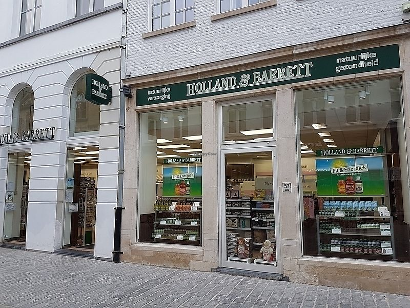 """Photo of Holland & Barrett  by <a href=""""/members/profile/TrudiBruges"""">TrudiBruges</a> <br/>front of shop <br/> January 17, 2018  - <a href='/contact/abuse/image/109394/347528'>Report</a>"""