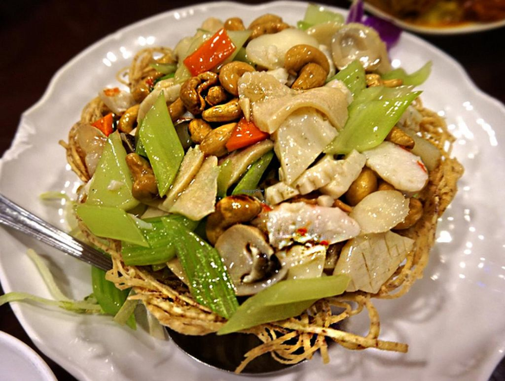 """Photo of Treasure Vegetarian Restaurant  by <a href=""""/members/profile/Stevie"""">Stevie</a> <br/>5 <br/> June 12, 2015  - <a href='/contact/abuse/image/10941/105664'>Report</a>"""
