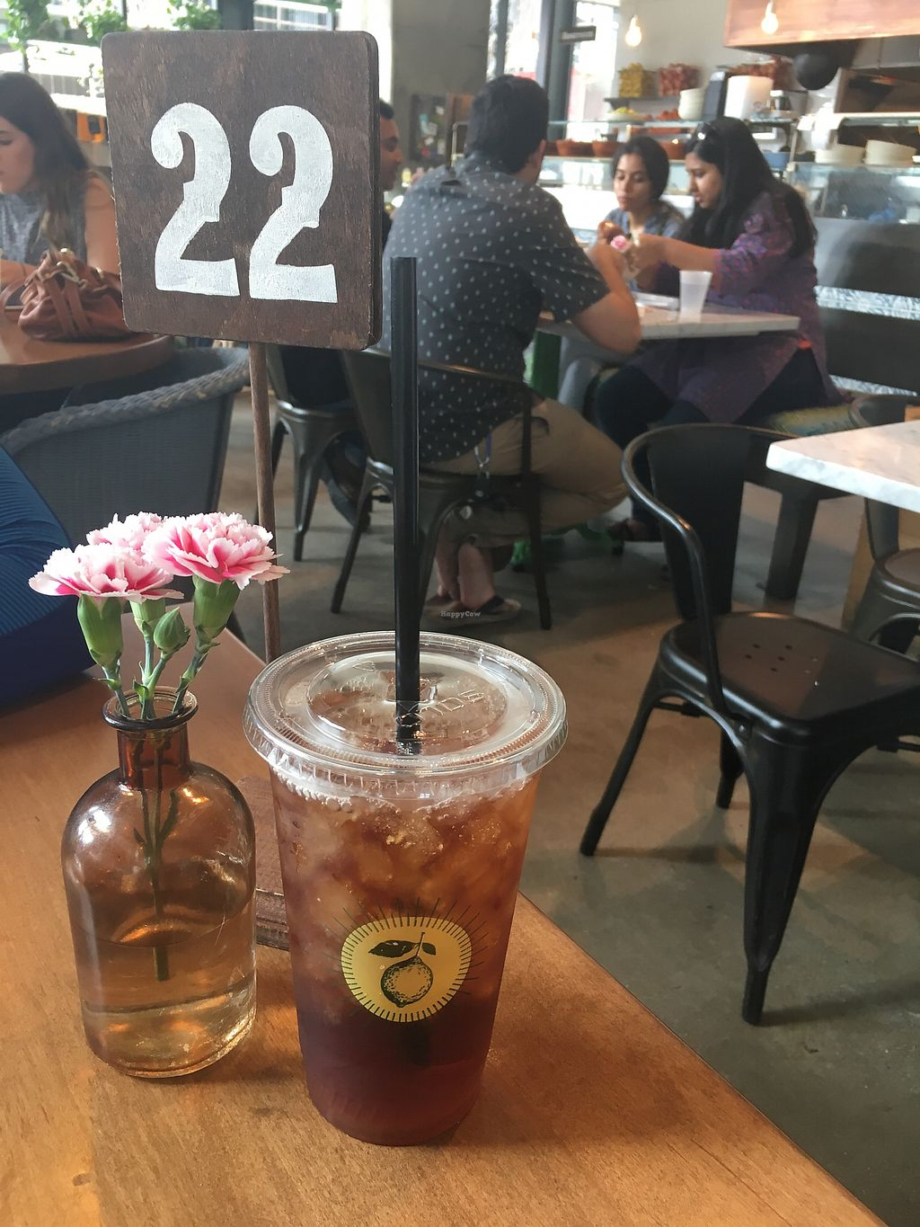 """Photo of Flower Child - Downtown  by <a href=""""/members/profile/giant%20bunnie"""">giant bunnie</a> <br/>Refreshing fresh made iced tea, with free refills  <br/> March 24, 2018  - <a href='/contact/abuse/image/109440/375522'>Report</a>"""