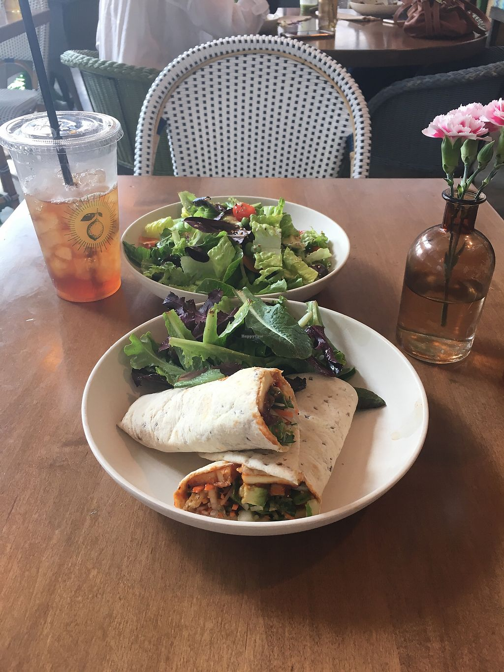 """Photo of Flower Child - Downtown  by <a href=""""/members/profile/giant%20bunnie"""">giant bunnie</a> <br/>Food is clean and refreshing, just like the atmosphere! <br/> March 24, 2018  - <a href='/contact/abuse/image/109440/375526'>Report</a>"""