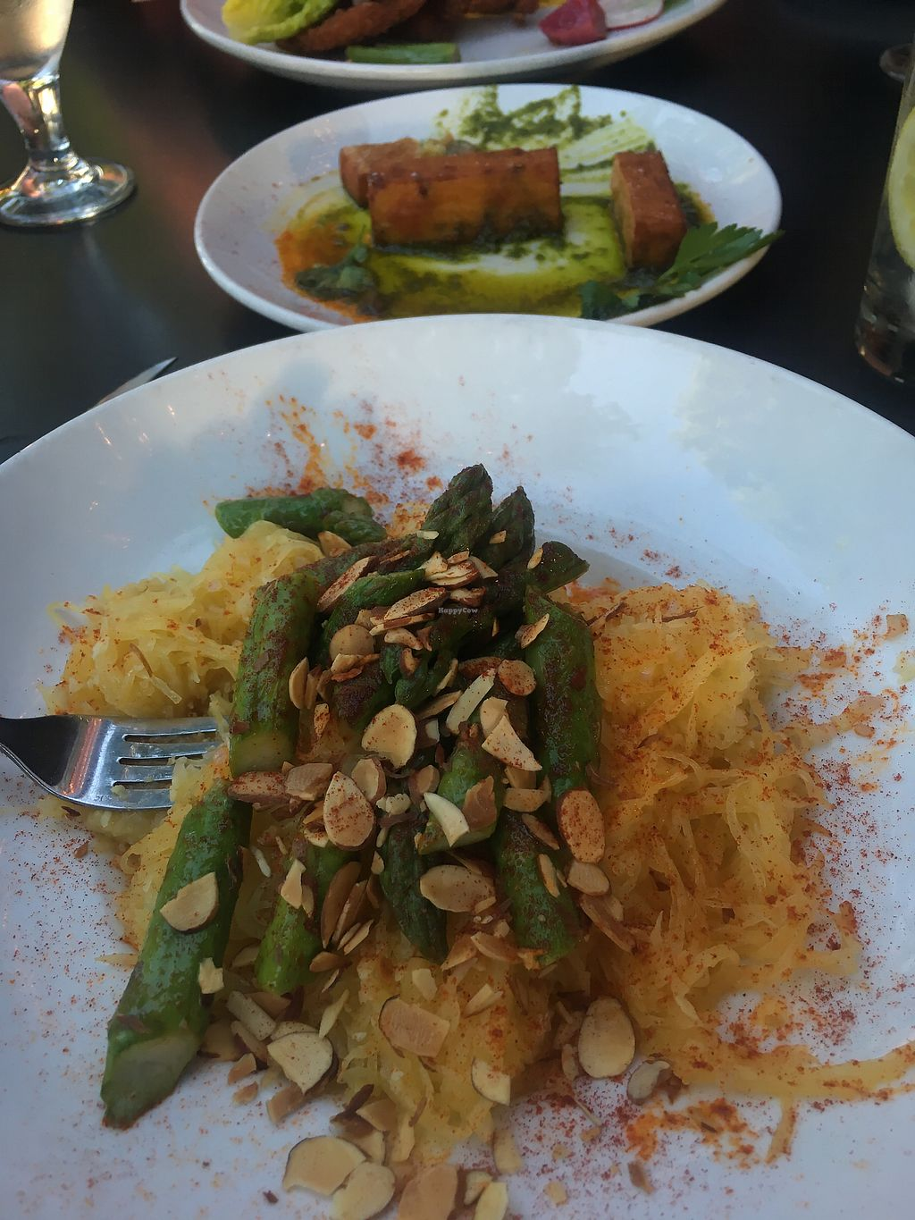 """Photo of Hook and Ladder  by <a href=""""/members/profile/KellyHolt"""">KellyHolt</a> <br/>Spaghetti squash and chickpea fritters <br/> April 21, 2018  - <a href='/contact/abuse/image/109453/388847'>Report</a>"""