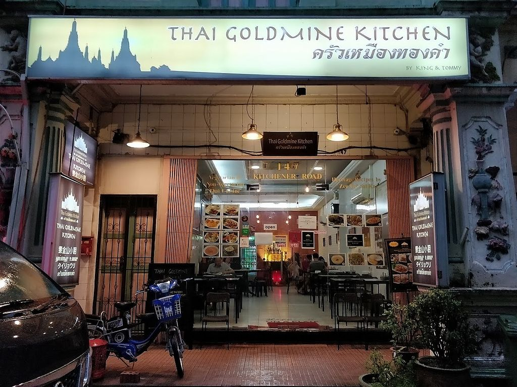"Photo of Thai Goldmine Kitchen  by <a href=""/members/profile/JimmySeah"">JimmySeah</a> <br/>shop front along Kitchener Road <br/> January 20, 2018  - <a href='/contact/abuse/image/109479/348991'>Report</a>"