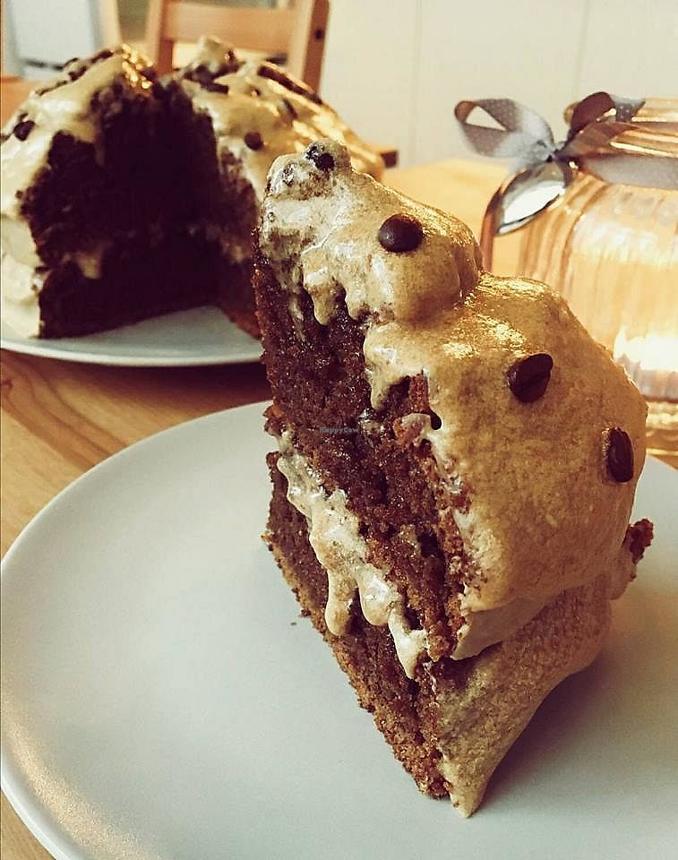 """Photo of Anni's Bröselei  by <a href=""""/members/profile/OliSchmidt"""">OliSchmidt</a> <br/>Our Irish Coffee cake with a little touch of Whisky :) <br/> January 18, 2018  - <a href='/contact/abuse/image/109523/348123'>Report</a>"""