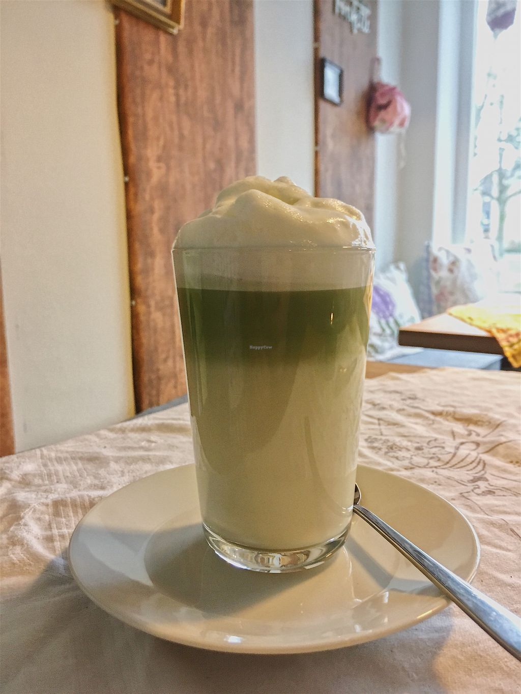 "Photo of Glück Auf  by <a href=""/members/profile/freuleinkirsch"">freuleinkirsch</a> <br/>Matcha Latte (mit Kokosmilch) <br/> January 17, 2018  - <a href='/contact/abuse/image/109525/347480'>Report</a>"