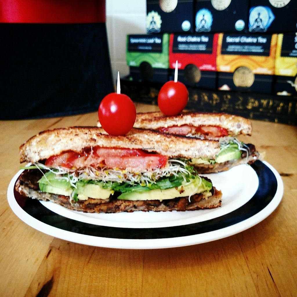 """Photo of The Beet Box  by <a href=""""/members/profile/MisoNomad"""">MisoNomad</a> <br/>TBLT from The Beet Box - Tempeh Bacon Lettuce Tomato on Organic Multigrain Toast with sprouts & avocado <br/> January 16, 2018  - <a href='/contact/abuse/image/109555/347192'>Report</a>"""
