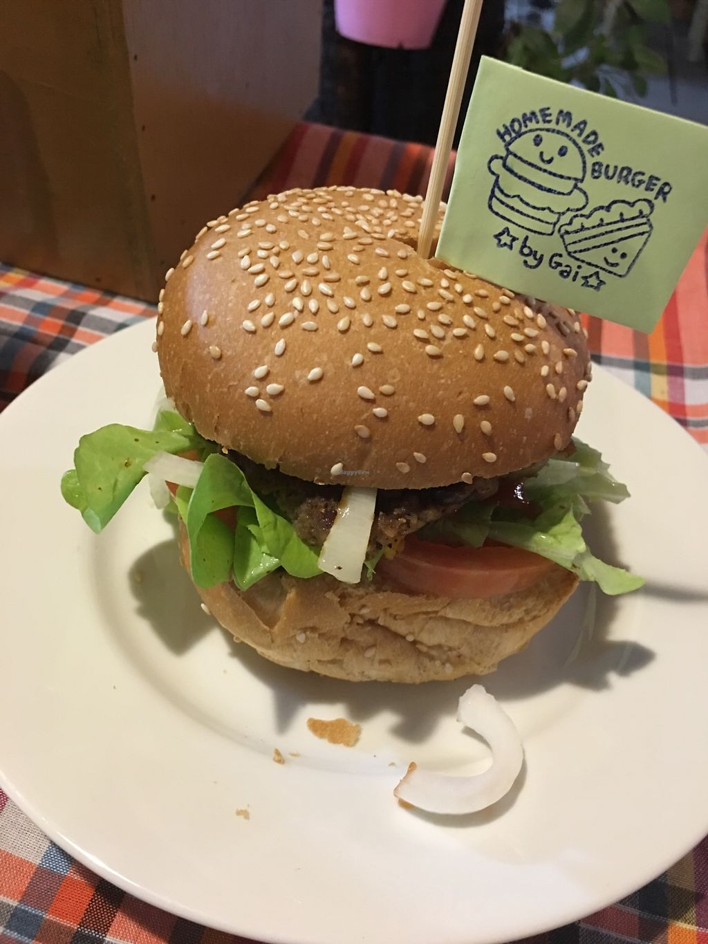 "Photo of Homemade Burgers and Sandwiches  by <a href=""/members/profile/Siiinimini_"">Siiinimini_</a> <br/>Vegan burger  <br/> January 21, 2018  - <a href='/contact/abuse/image/109558/349409'>Report</a>"