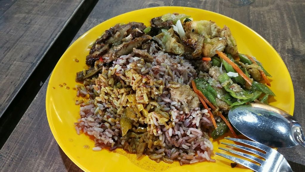 """Photo of Zhai Zhi Chuan Shuo  by <a href=""""/members/profile/JunXuan"""">JunXuan</a> <br/>$4.20 for this mixed veg rice <br/> March 22, 2018  - <a href='/contact/abuse/image/109580/374188'>Report</a>"""