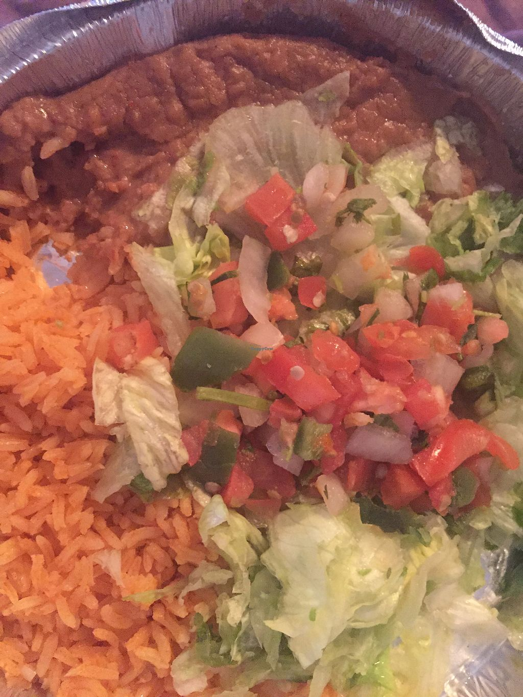 """Photo of Chimi's Mexican Food  by <a href=""""/members/profile/MrvaRbinson"""">MrvaRbinson</a> <br/>Vegan fajita done right! <br/> January 15, 2018  - <a href='/contact/abuse/image/109591/347000'>Report</a>"""