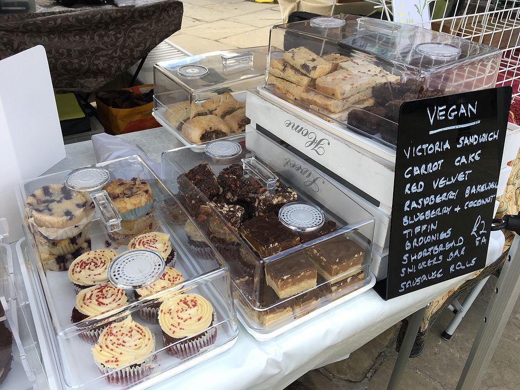 """Photo of Izzy's Cakes and Bakes  - Market Stall  by <a href=""""/members/profile/radiocaz"""">radiocaz</a> <br/>Vegan selection  <br/> March 8, 2018  - <a href='/contact/abuse/image/109599/368090'>Report</a>"""