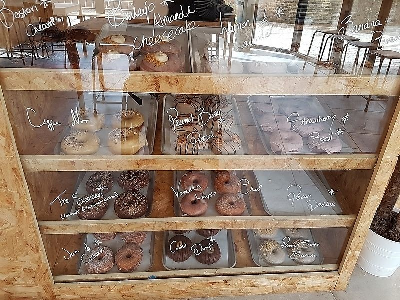 """Photo of Dough Society  by <a href=""""/members/profile/TrudiBruges"""">TrudiBruges</a> <br/>selection of donuts  <br/> March 31, 2018  - <a href='/contact/abuse/image/109611/378650'>Report</a>"""