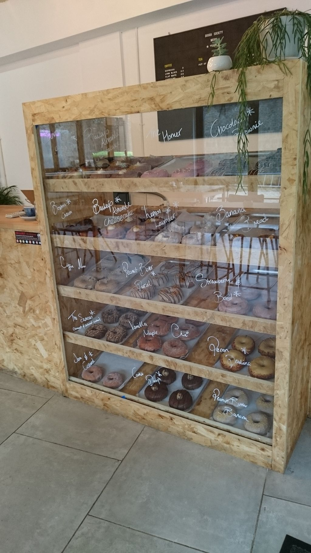 """Photo of Dough Society  by <a href=""""/members/profile/Layra"""">Layra</a> <br/>Doughnut selection <br/> April 3, 2018  - <a href='/contact/abuse/image/109611/380347'>Report</a>"""