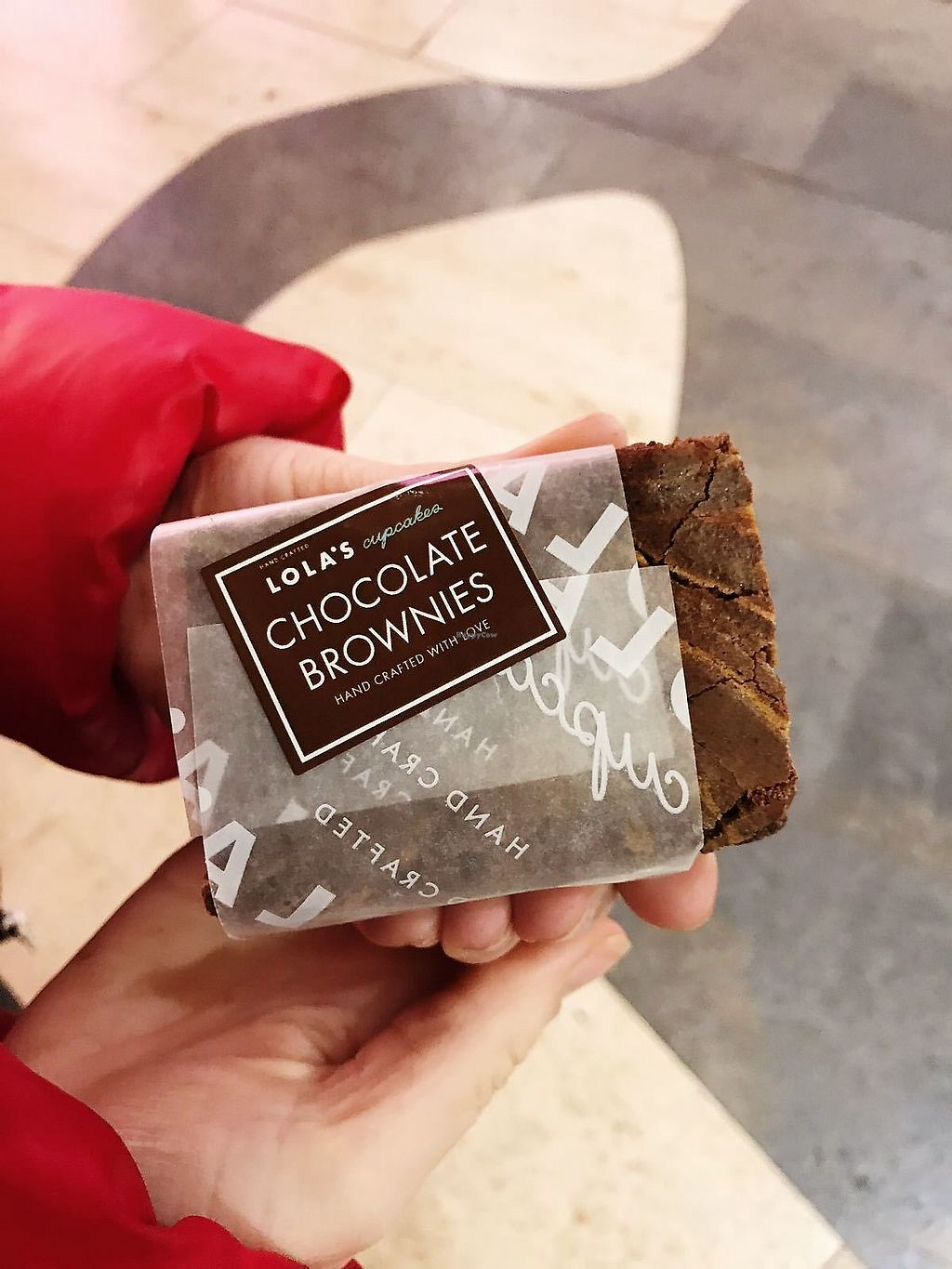 """Photo of Lola's Cupcakes  by <a href=""""/members/profile/TARAMCDONALD"""">TARAMCDONALD</a> <br/>The most amazing chocolate brownie from another angle lol <br/> January 17, 2018  - <a href='/contact/abuse/image/109634/347504'>Report</a>"""