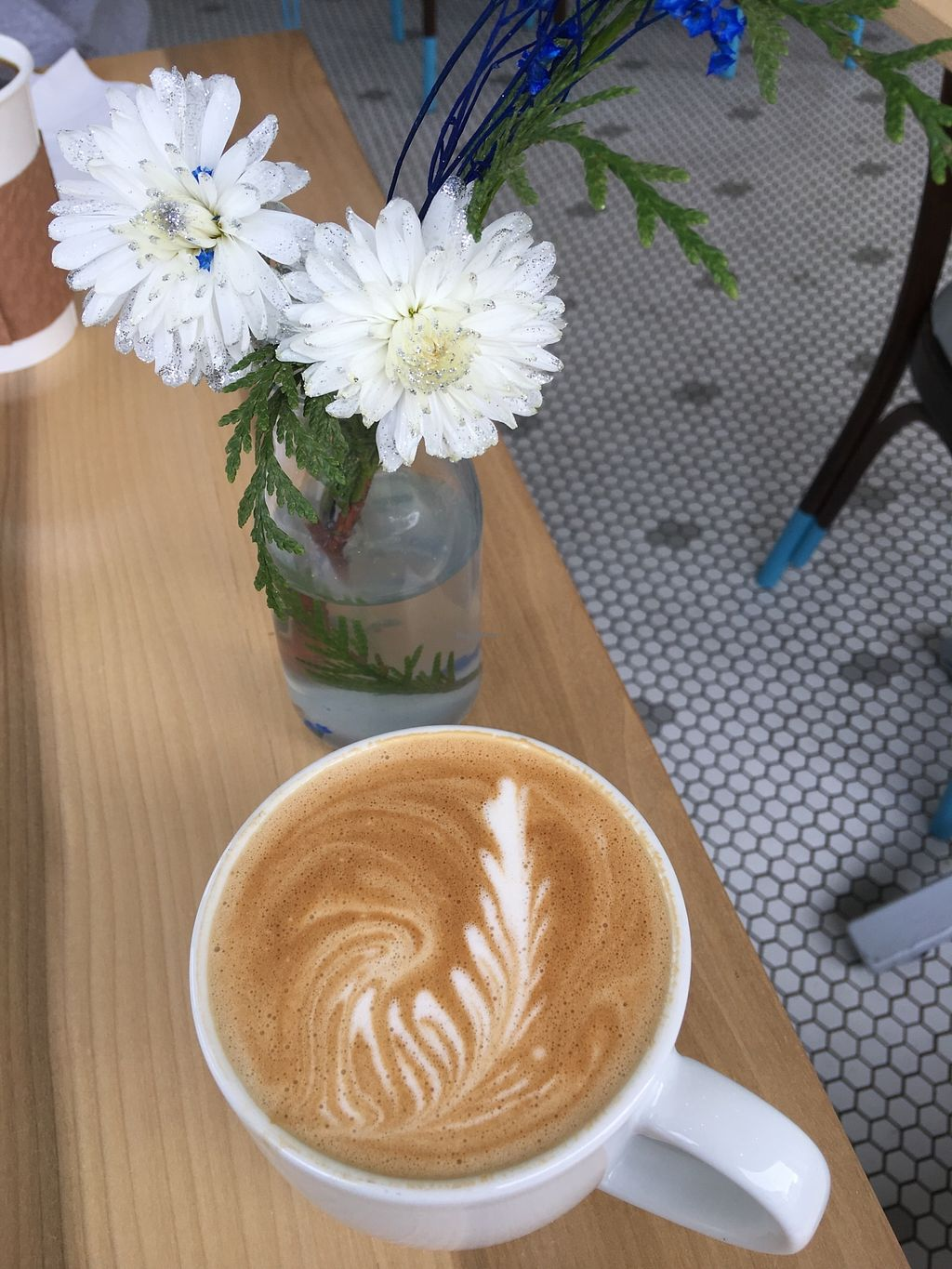 "Photo of The Sweet Praxis  by <a href=""/members/profile/SuzieJoConstantin"">SuzieJoConstantin</a> <br/>Vanilla Oat Milk Latte <br/> January 16, 2018  - <a href='/contact/abuse/image/109657/347281'>Report</a>"