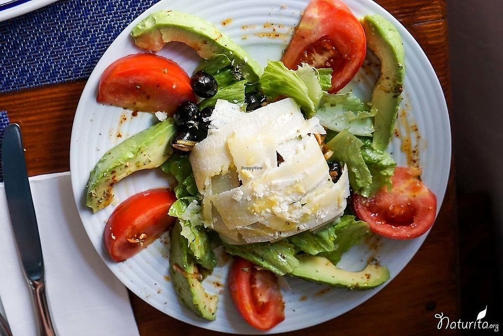 """Photo of Enriclai  by <a href=""""/members/profile/Naturita"""">Naturita</a> <br/>Tomatoes, avocado, olives, smoked paprika and hard cheese <br/> January 17, 2018  - <a href='/contact/abuse/image/109674/347790'>Report</a>"""