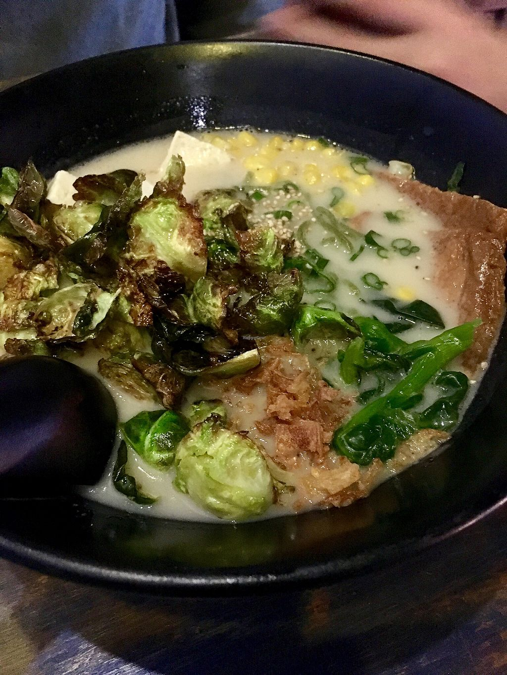 """Photo of Ohyama Ramen  by <a href=""""/members/profile/clovely.vegan"""">clovely.vegan</a> <br/>Creamy Vegan <br/> February 23, 2018  - <a href='/contact/abuse/image/109678/362751'>Report</a>"""
