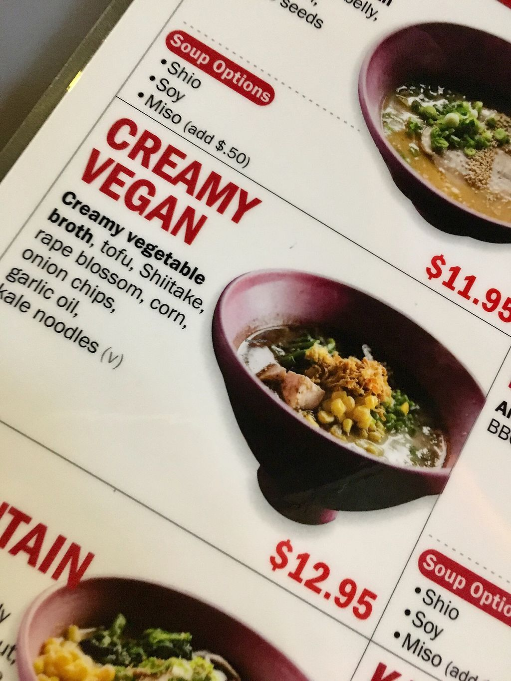 """Photo of Ohyama Ramen  by <a href=""""/members/profile/clovely.vegan"""">clovely.vegan</a> <br/>Creamy Vegan <br/> February 23, 2018  - <a href='/contact/abuse/image/109678/362752'>Report</a>"""