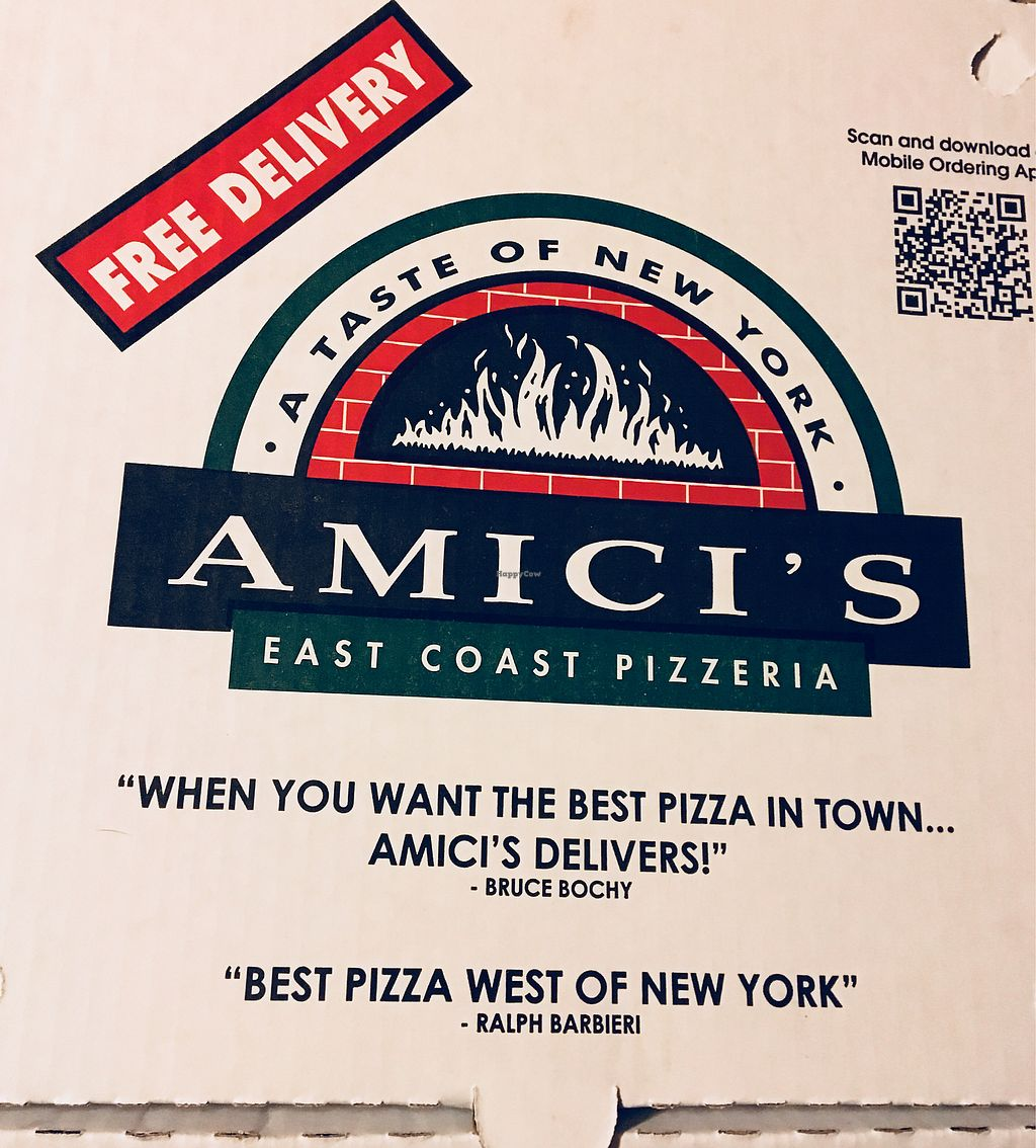 "Photo of Amici's East Coast Pizzeria  by <a href=""/members/profile/Clean%26Green"">Clean&Green</a> <br/>Amici's  <br/> January 22, 2018  - <a href='/contact/abuse/image/109695/349842'>Report</a>"