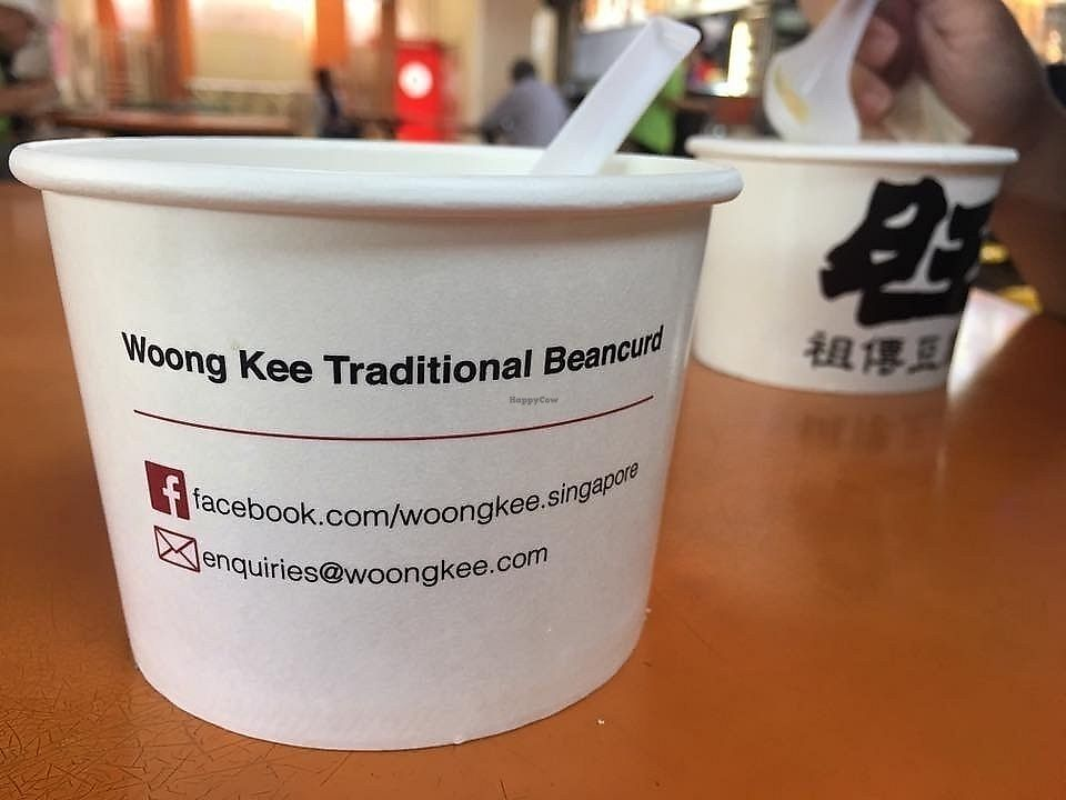 "Photo of Woong Kee Traditional Beancurd - Maxwell Food Centre  by <a href=""/members/profile/CherylQuincy"">CherylQuincy</a> <br/>Dessert bowl <br/> January 18, 2018  - <a href='/contact/abuse/image/109715/347835'>Report</a>"