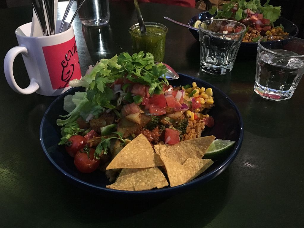 """Photo of Ceviche  by <a href=""""/members/profile/jaws"""">jaws</a> <br/>Vegan jambalaya (ingredients vary with each visit) <br/> April 19, 2018  - <a href='/contact/abuse/image/109718/387897'>Report</a>"""