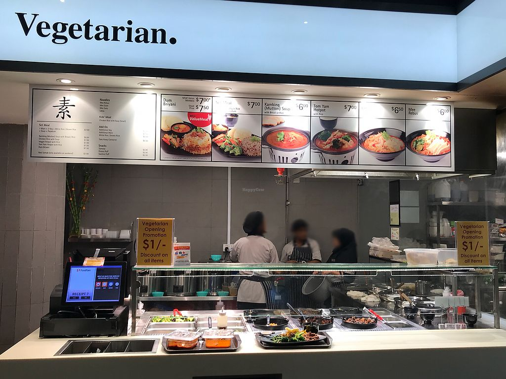 """Photo of AMK Hub - Vegetarian Stall  by <a href=""""/members/profile/VeggieTemptation"""">VeggieTemptation</a> <br/>☆ More vegan recipes and eateries at www.veggieTemptation.blogspot.sg.  Facebook: veggietemptation  <br/> April 2, 2018  - <a href='/contact/abuse/image/109727/379676'>Report</a>"""