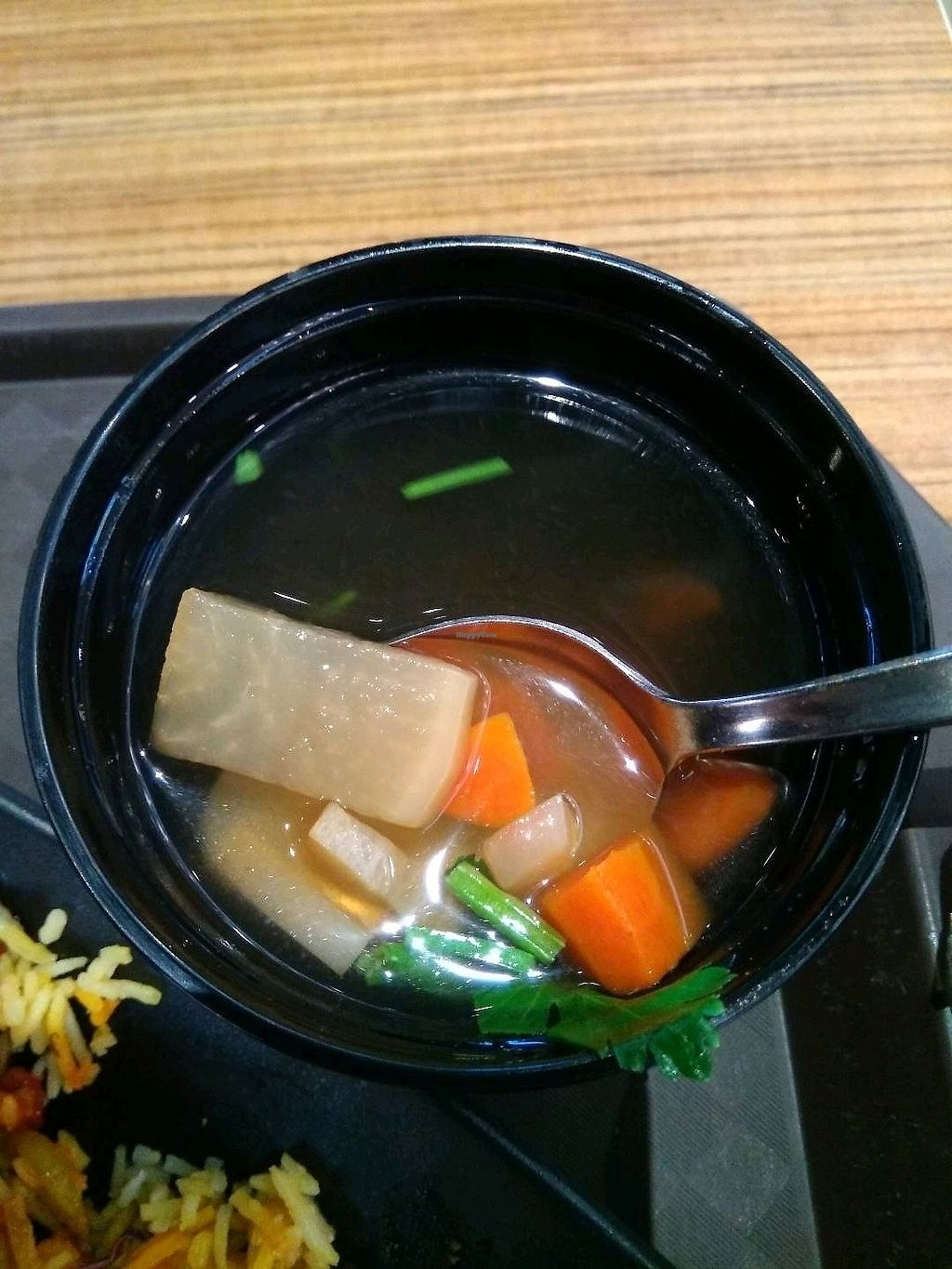 """Photo of AMK Hub - Vegetarian Stall  by <a href=""""/members/profile/AdelOng"""">AdelOng</a> <br/>very sweet soup ~  <br/> April 12, 2018  - <a href='/contact/abuse/image/109727/384265'>Report</a>"""