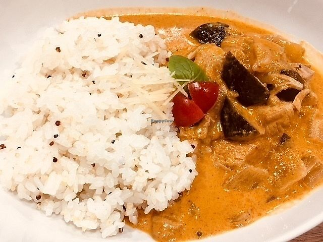 """Photo of Where is a dog  by <a href=""""/members/profile/nobumiya"""">nobumiya</a> <br/>Asian curry(with root vegetables and garbanzo bean) <br/> February 13, 2018  - <a href='/contact/abuse/image/109786/358713'>Report</a>"""