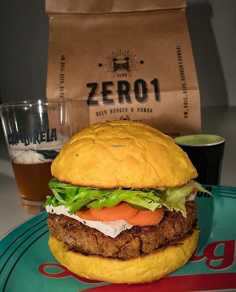 "Photo of Zero1  by <a href=""/members/profile/HollierMarshall"">HollierMarshall</a> <br/>Vegan Burger! Best burger locally :)  <br/> January 19, 2018  - <a href='/contact/abuse/image/109816/348159'>Report</a>"