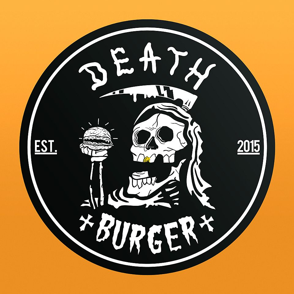 "Photo of Death Burger  by <a href=""/members/profile/HollierMarshall"">HollierMarshall</a> <br/>Vegan Burger Available <br/> January 19, 2018  - <a href='/contact/abuse/image/109817/348161'>Report</a>"