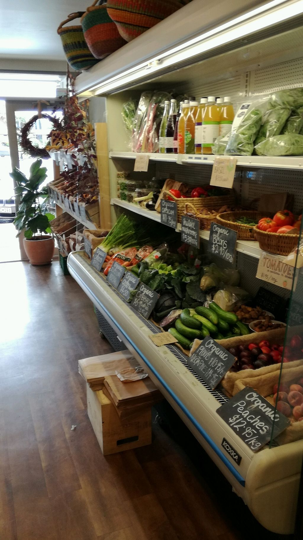 """Photo of Be Organics  by <a href=""""/members/profile/evajelen"""">evajelen</a> <br/>fresh organic veggies and fruit <br/> January 24, 2018  - <a href='/contact/abuse/image/109841/350247'>Report</a>"""