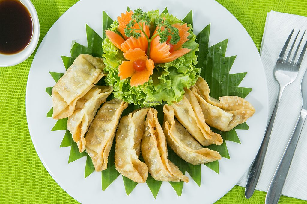 "Photo of Tasty Vegetarian  by <a href=""/members/profile/Tastyvegetarian"">Tastyvegetarian</a> <br/>Pan fried vegetable dumplings <br/> January 29, 2018  - <a href='/contact/abuse/image/109865/352280'>Report</a>"