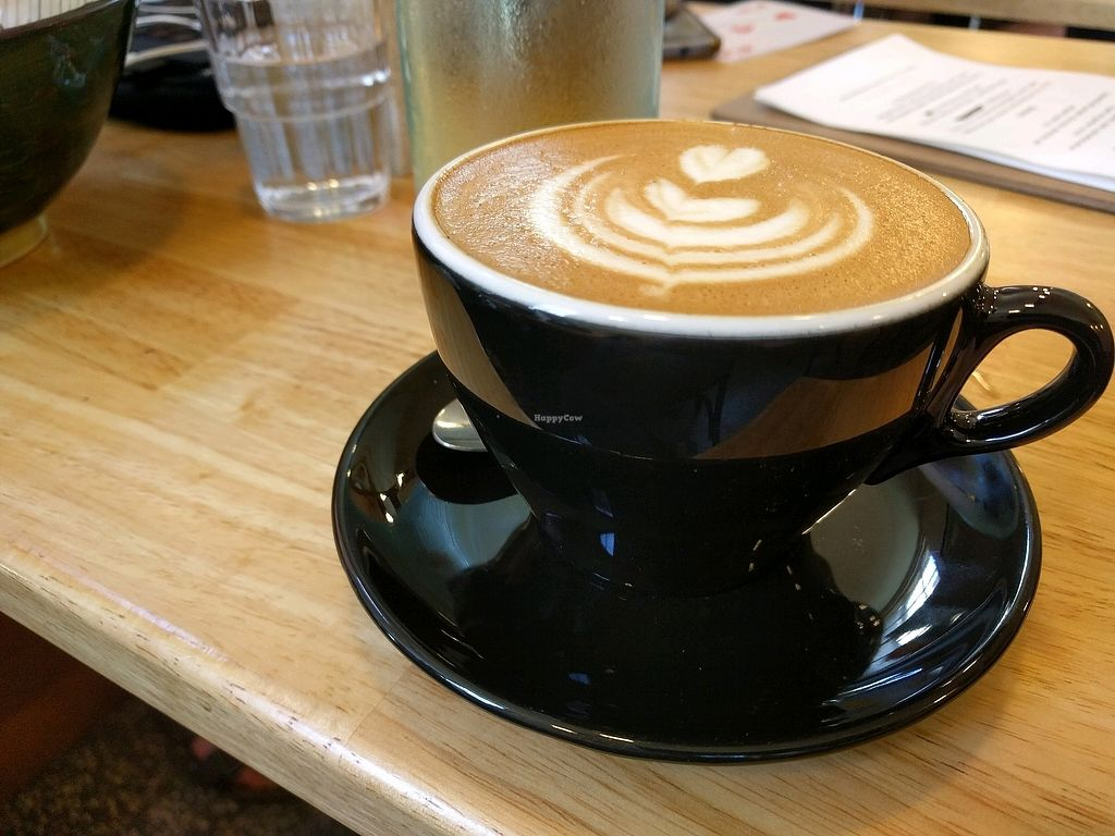 """Photo of Sweetbrew  by <a href=""""/members/profile/VeganSoapDude"""">VeganSoapDude</a> <br/>great coffee.. bonsoy! <br/> January 25, 2018  - <a href='/contact/abuse/image/109903/350667'>Report</a>"""