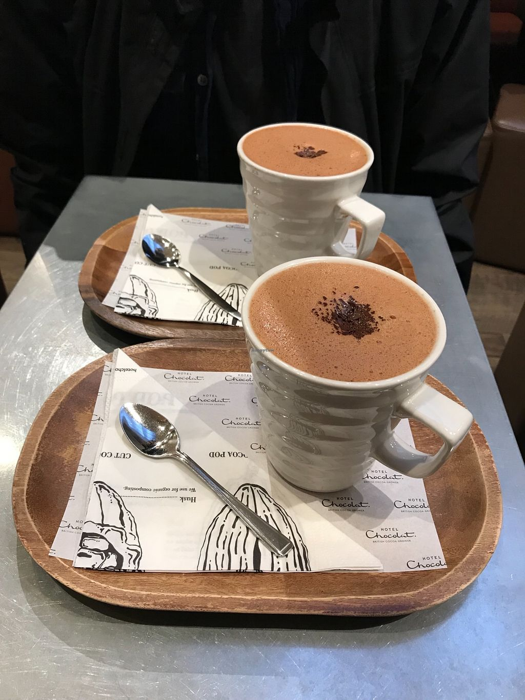 """Photo of Hotel Chocolat  by <a href=""""/members/profile/KatyWilliams"""">KatyWilliams</a> <br/>Delicious hot chocolate with coconut milk!  <br/> January 20, 2018  - <a href='/contact/abuse/image/109909/348727'>Report</a>"""