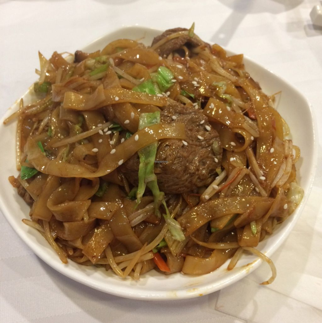 "Photo of Harmony Village Vegetarian  by <a href=""/members/profile/Paul835"">Paul835</a> <br/>Rice Noodles with veggie beef and beansprouts <br/> March 14, 2016  - <a href='/contact/abuse/image/10991/139948'>Report</a>"