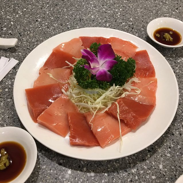 "Photo of Harmony Village Vegetarian  by <a href=""/members/profile/Bobozmom"">Bobozmom</a> <br/>veggie sashimi <br/> August 31, 2016  - <a href='/contact/abuse/image/10991/172603'>Report</a>"