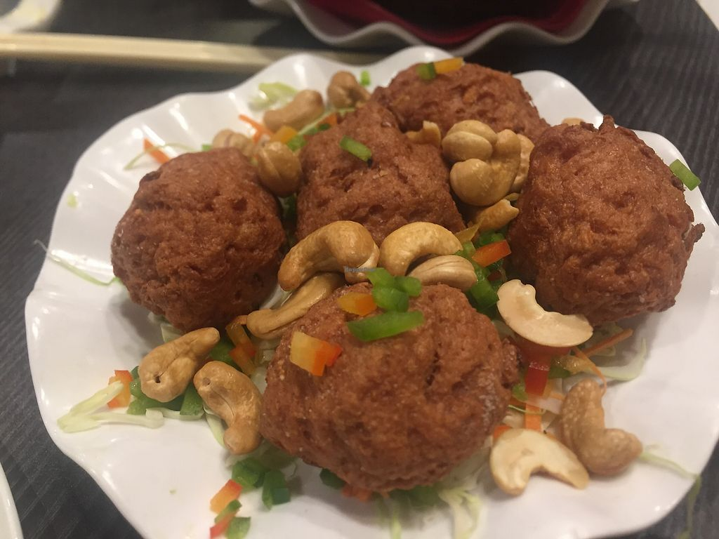 "Photo of Harmony Village Vegetarian  by <a href=""/members/profile/SamanthaIngridHo"">SamanthaIngridHo</a> <br/>Deep fried meatballs <br/> December 9, 2017  - <a href='/contact/abuse/image/10991/333780'>Report</a>"