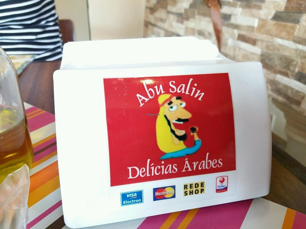 """Photo of Abu Salin Delicias Arabes   by <a href=""""/members/profile/Macintouch"""">Macintouch</a> <br/>Major Debit and Credit Cards <br/> January 20, 2018  - <a href='/contact/abuse/image/109940/349026'>Report</a>"""