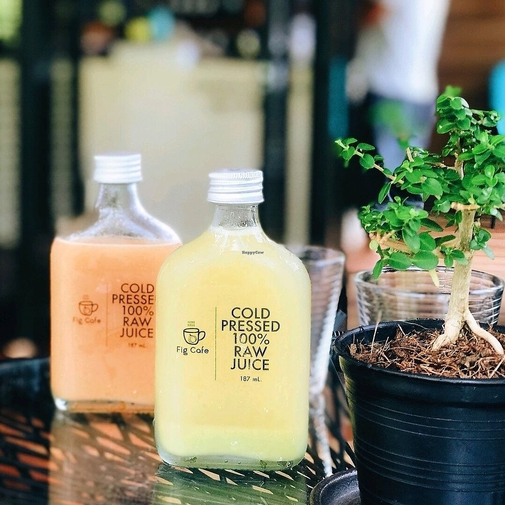 """Photo of Fig Cafe  by <a href=""""/members/profile/KohChangResidence"""">KohChangResidence</a> <br/>Raw Juice <br/> January 25, 2018  - <a href='/contact/abuse/image/109941/350694'>Report</a>"""