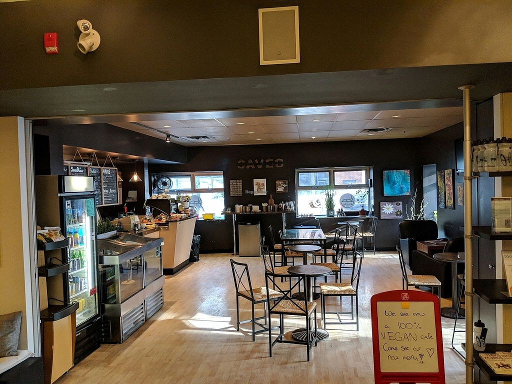 """Photo of SaVeg Cafe  by <a href=""""/members/profile/granite88"""">granite88</a> <br/>Interior <br/> January 24, 2018  - <a href='/contact/abuse/image/109946/350569'>Report</a>"""
