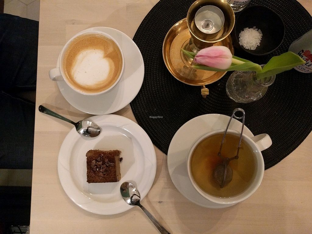 """Photo of Truefood Cafe  by <a href=""""/members/profile/emek"""">emek</a> <br/>coffe, tea and cake <br/> February 24, 2018  - <a href='/contact/abuse/image/109958/363080'>Report</a>"""