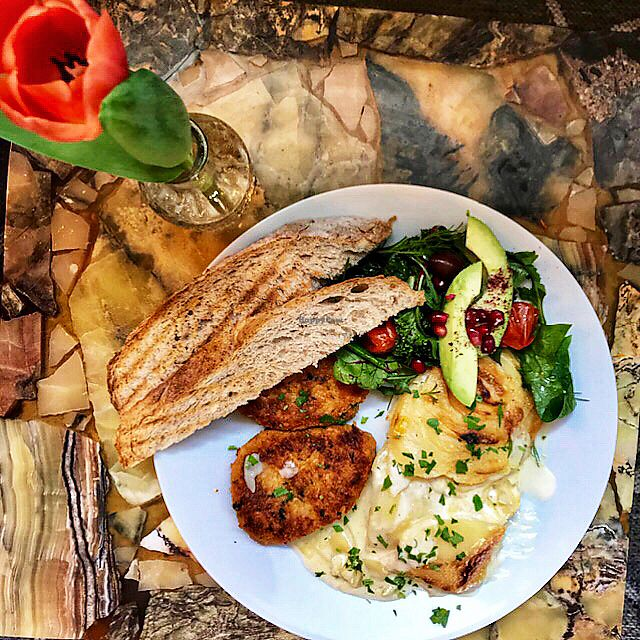 """Photo of Truefood Cafe  by <a href=""""/members/profile/JohanEnell"""">JohanEnell</a> <br/>Yummy <br/> April 7, 2018  - <a href='/contact/abuse/image/109958/381887'>Report</a>"""