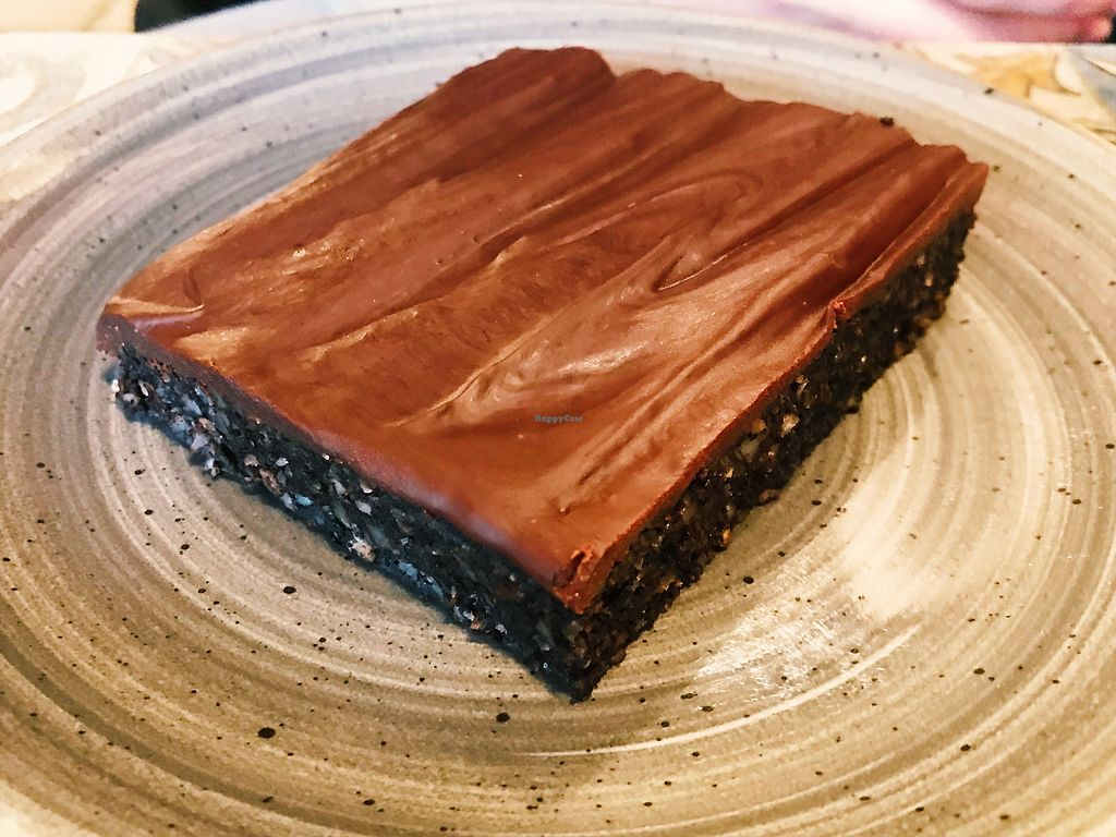 """Photo of No 70 Bakery  by <a href=""""/members/profile/veganoteacher"""">veganoteacher</a> <br/>Vegan Brownie <br/> January 21, 2018  - <a href='/contact/abuse/image/109960/349305'>Report</a>"""